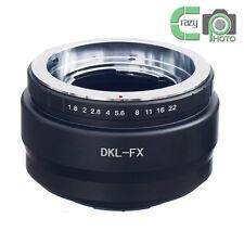 DKL-FX Voigtlander Bessamatic Retina Deckel Lens to Fujifilm FX X-Pro1 Adapter