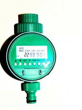 Home Automatic Electronic Water Timer Garden Irrigation Controller Digital lcd
