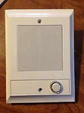 Nutone IS-69WH WHITE Intercom Door Speaker +lighted pushbutton is67 is54