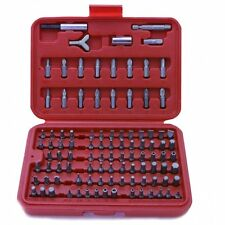 Rolson 100pc All Purpose CV Power Bit Set & Adaptors Inc Case