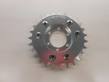 MOTORIZED BICYCLE REAR CNC 27T SPROCKET AND DISC ADAPTER