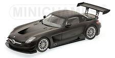 Mercedes-Benz SLS AMG GT3, Black 2011 Cars, Minichamps 151113101  Diecast  1/18