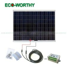 180Watts Solar Panel Complete Kit: 180W Poly Solar Cell  for Home Boat Off Grid
