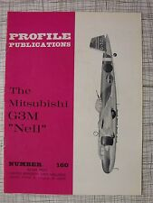Profile # 160 Misubishi G3M Nell (Camouflage Markings, Japan Pacific War Bomber)