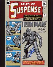 Stan Lee signed Tales of Suspense 39 Photo With COA +Proof Marvel First Iron Man