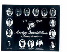 1971 1972 ABA CHAMPION INDIANA PACERS 8X10 TEAM  PHOTO BASKETBALL USA