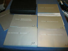 2010 INFINITI FX35 FX50 FX 35 50  OWNERS MANUAL SET W/ CASE & NAVIGATION