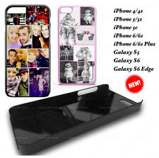 COLLAGE PHOTO PHONE CASE PERSONALISED FOR IPHONE SE 4, 4S, 5, 5S, 6, 6 PLUS