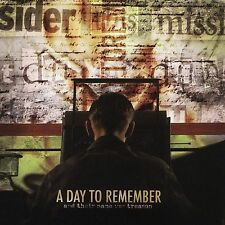 Day To Remember - And Their Name Was Treason NEW CD OOP