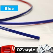 Blue 5M Flexible Strip Moulding Trim Car Universal Interior Edging Protector 4mm