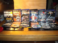 PS2 games Bundle Job Lot x 6 Stuntman Jedi Starfighter Top Gun Crazy Frog Need