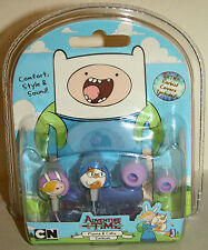 NEW Adventure Time Finn Jake FIONNA & CAKE Earbuds Headphones Gift Set IPhone