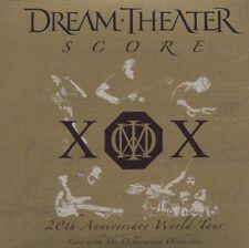 "DREAM THEATER ""SCORE 20TH ANNIVERSARY WORLD TOUR"" 3 CD"