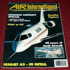 Air International 1997 September USAF,Learjet,Saab