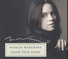 NATALIE MERCHANT SIGNED LEAVE YOUR SLEEP 2 CD SET 10,000 MANIACS NYC SIGNING