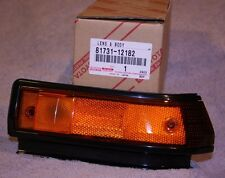 1986 1987 Corolla AE86 Right Front Side Turn Signal Lamp Lens - Genuine Toyota
