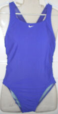 NIKE Fast Back Core Tank Swimsuit Size 36 10  Purple NWT Racing