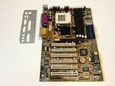ASUS CUV4X-EA REV 1.05 Socket 370 CUV4X-E w/Audio + I/O Shield TESTED