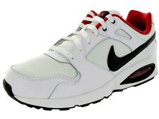 Nike Air Max Coliseum Racer White/Black/Red Men's Running Athletic Shoes Si