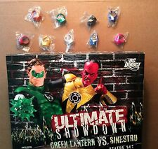 DC ULTIMATE SHOWDOWN: GREEN LANTERN vs. SINESTRO STATUE + 9 Rings; #47 of 1500
