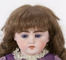 "Antique 23"" Cuno & Otto Dressel Holz Masse Bisque Shoulder Head Doll"