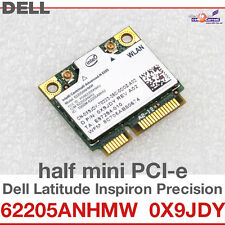 Wi-Fi WLAN WIRELESS card network card FOR DELL MINI PCI-E 0X9JDY 62205ANHMW D05