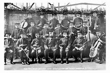 pt4610 - Whitby , Spa Band 1910 , Yorkshire - photo 6x4