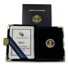 2012-W 1/10 oz Proof Gold American Eagle - with Box and Certificate - SKU #66330