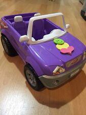 Barbie Car, Purple, As Is