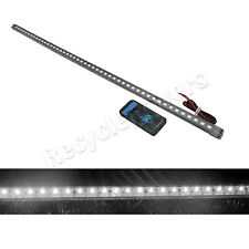 White 56cm 48LED Car Knight Rider Strip Light 20 Modes with remote control