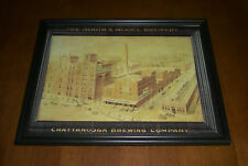 CHATTANOOGA BREWING COMPANY FRAMED COLOR PRINT