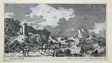 Bretagne Brest Barock Perelle Schiff Sturm Hafen Galeere Küste Seenot Frankreich