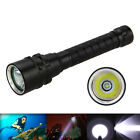Underwater 5000LM CREE XML T6 LED SCUBA Diving Flashlight Torch Lamp 18650 IPX8