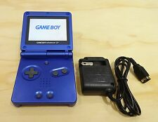 Nintendo Game Boy Advance GBA SP Cobalt Blue System AGS 101 Brighter MINT NEW