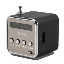 Portable Micro USB Mini Stereo Super Bass Speaker Music Player FM Radio PC MP3AO