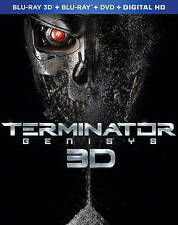 Terminator Genisys (Blu-ray/DVD, 3D; Includes Digital Copy)