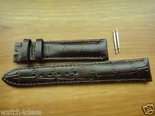 Genuine ORIS CLASSIC XXL DATE Brown Leather band.bracelet.strap #633.7505 18MM