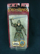 """LOTR Lord of the Rings Two Towers Prince Theodred Figure 2004 6.5"""" Toy Biz New"""