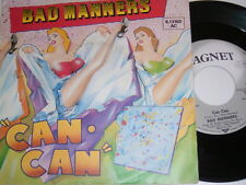 "7"" - Bad Manners Can Can & Armchair Disco - 1981 # 4956"