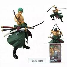 Details about  7'' Figma Anime One Piece Roronoa Zoro Movable Action Figure Toy