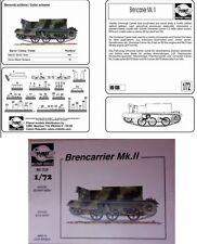 a Planet Models Military Vehicle MV 036 - Bren Carrier Mk. II   (Scala 1/72)