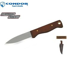 Condor Tool & Knife - BUSHLORE Knife w/ Sheath CTK232-4.3HC New