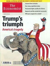 The Economist Magazin, Heft 19/2016: Trump's triumph +++ wie neu +++
