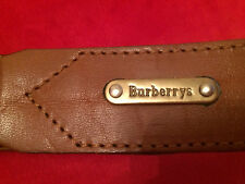 Burberry ladies leather belt 38 inches