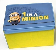 Despicable Me Minions Toy & Games Storage Box Chest - Yellow