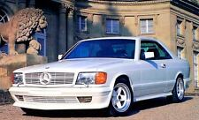 1987 Mercedes Benz AMG 500SEC W126 Factory Photo c2781-3WT1TI
