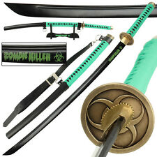 Zombie Killer 1045 High Carbon Steel Full Tang Japanese Katana Sword FREE Bag