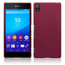 Sony Xperia Z3 PLUS Extreme Impact Element Case Rubberised Micro Thin Rugged Red
