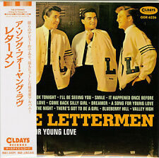 THE LETTERMEN-A SONG FOR YOUNG LOVE-JAPAN MINI LP CD BONUS TRACK C94