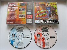 Street Fighter Collection For Sony Playstation 1 / PS1 Game No Ins PAL 1997